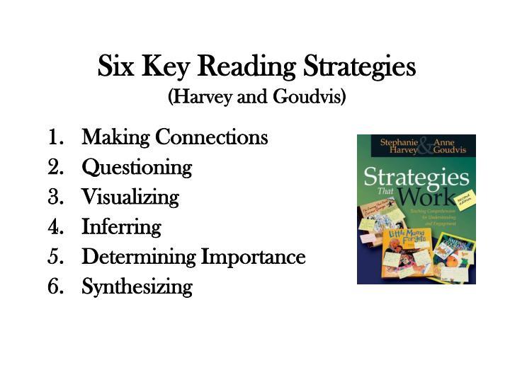 Six Key Reading Strategies