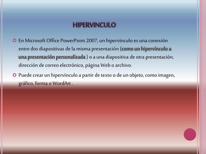 HIPERVINCULO