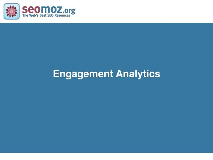Engagement Analytics