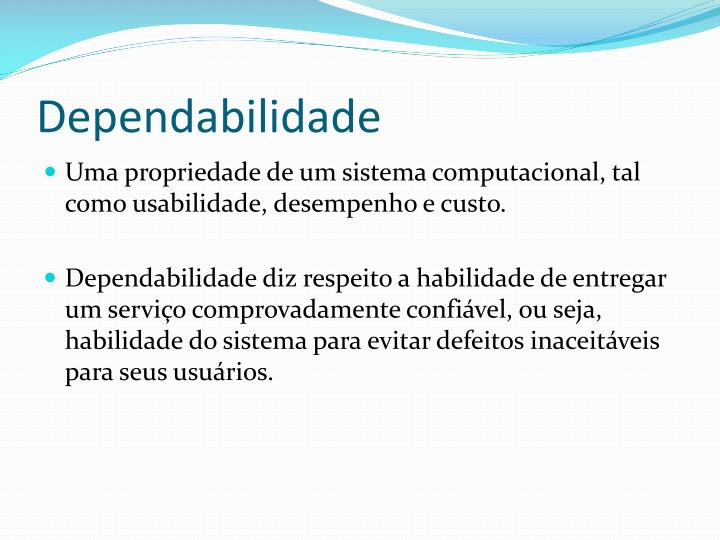 Dependabilidade