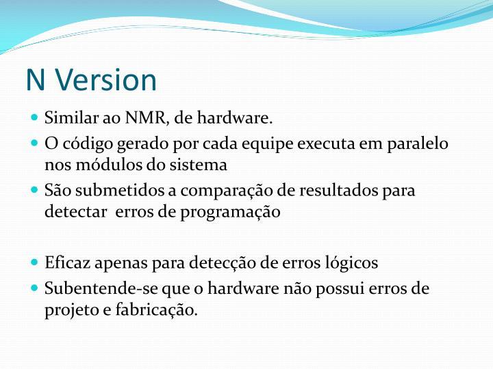 N Version