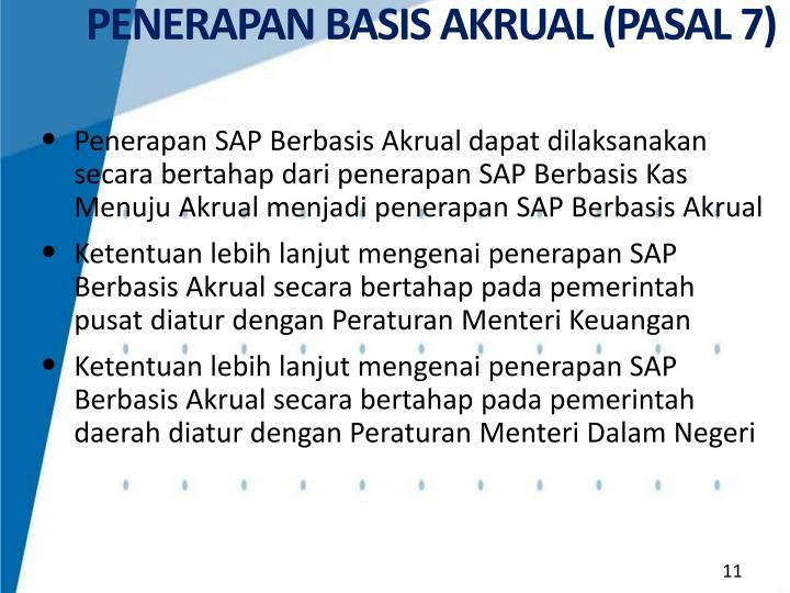 PENERAPAN BASIS AKRUAL (PASAL