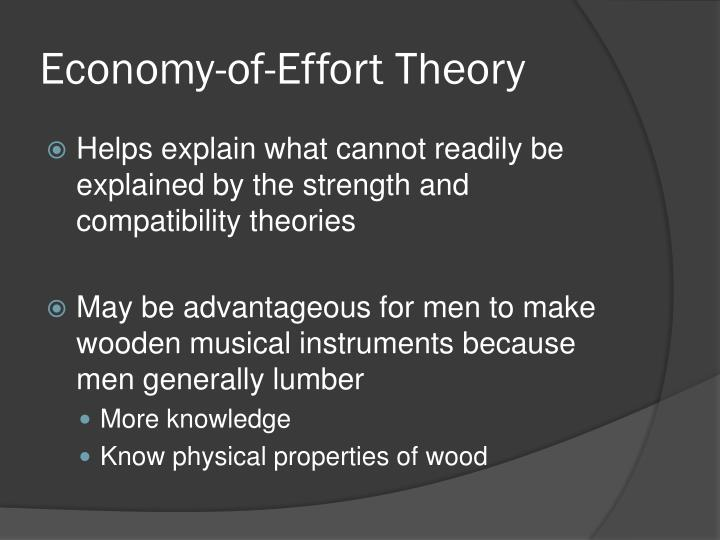 Economy-of-Effort Theory