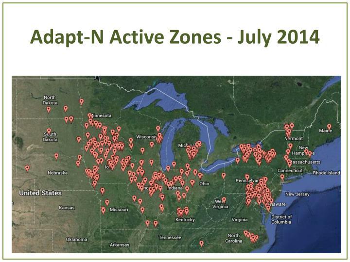 Adapt-N Active Zones - July 2014