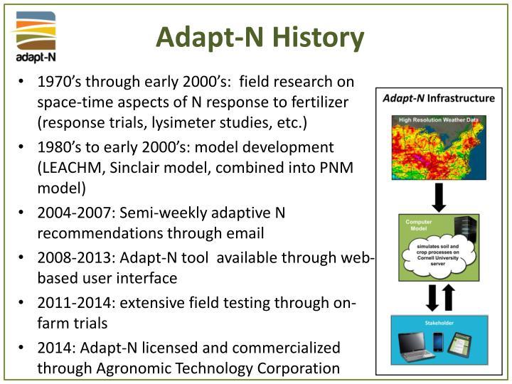 Adapt-N History