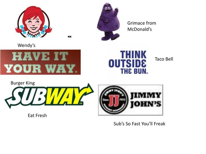 Grimace from McDonald's