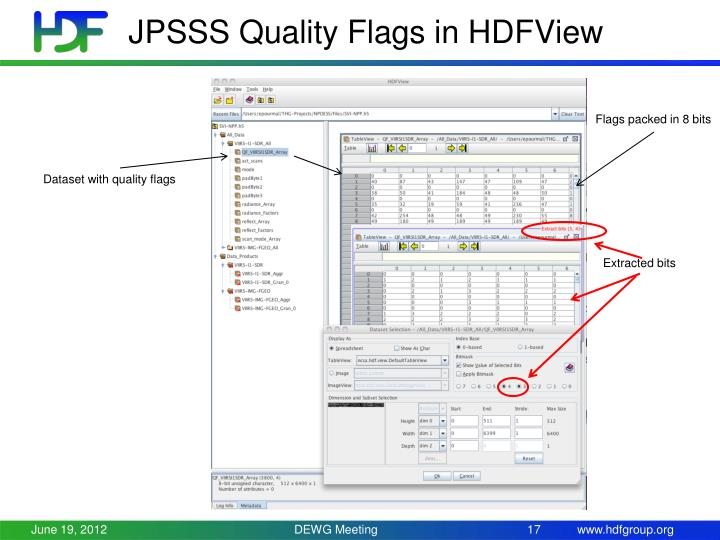 JPSSS Quality Flags in