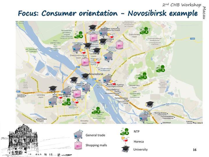 Focus: Consumer orientation - Novosibirsk example
