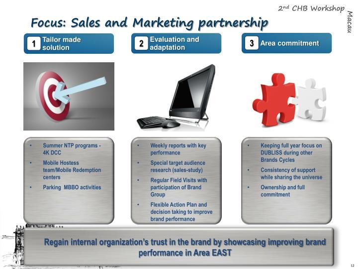 Focus: Sales