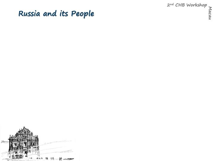 Russia and its People