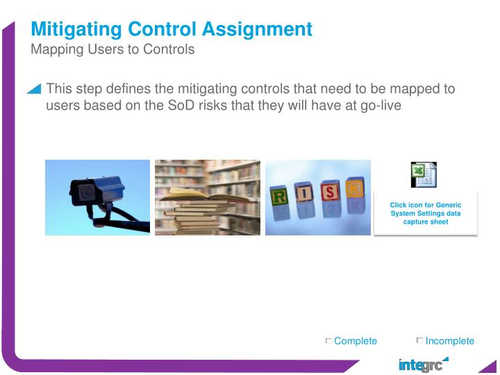 Mitigating Control Assignment