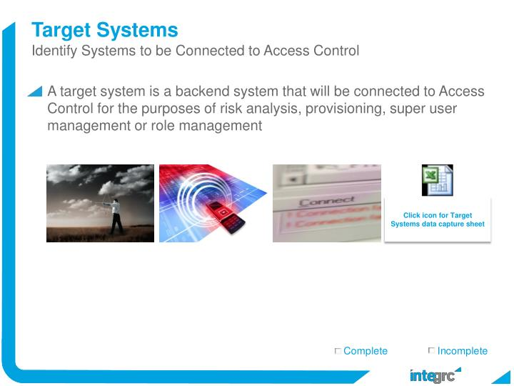 Target Systems
