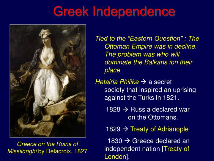 Greek Independence