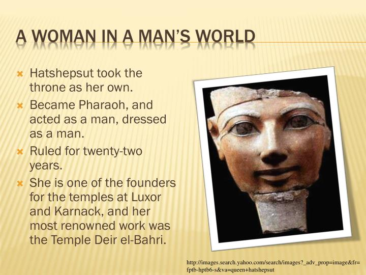 A woman in a man s world