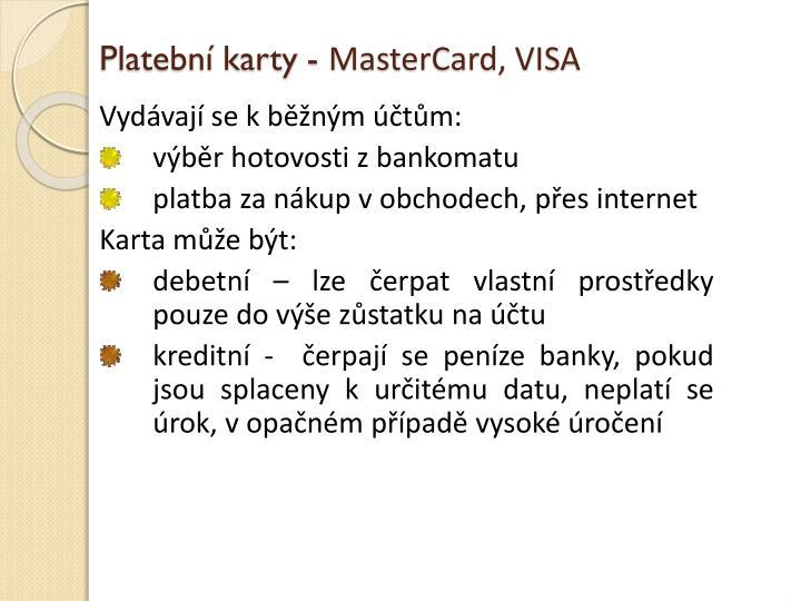 Platební karty -