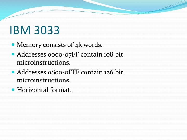 IBM 3033