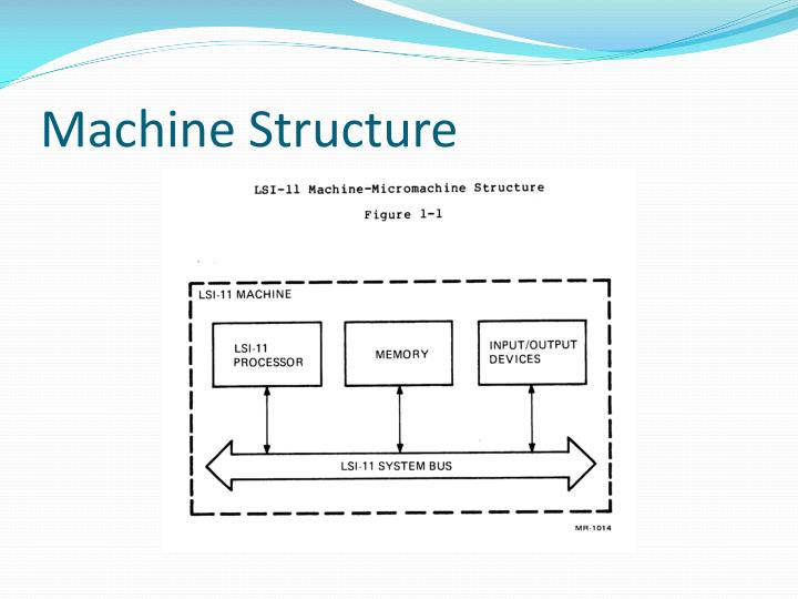 Machine Structure