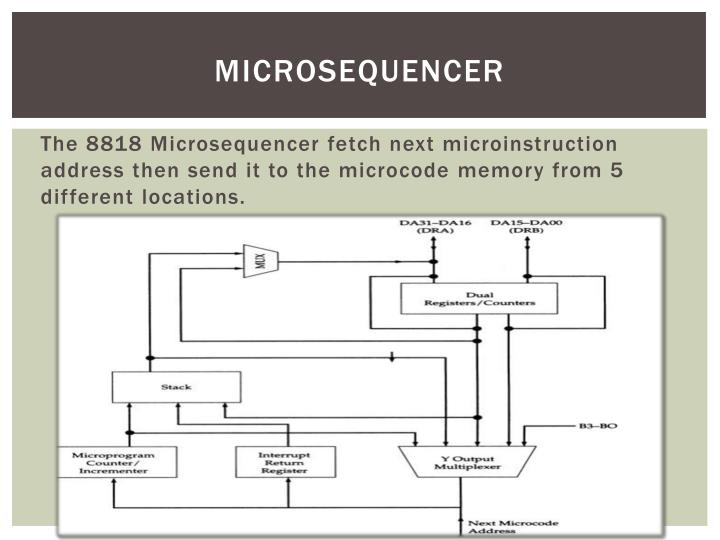 Microsequencer