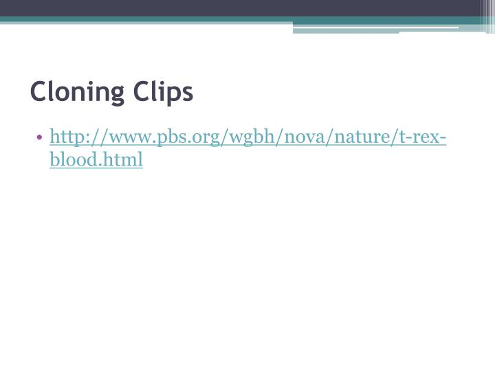 Cloning Clips