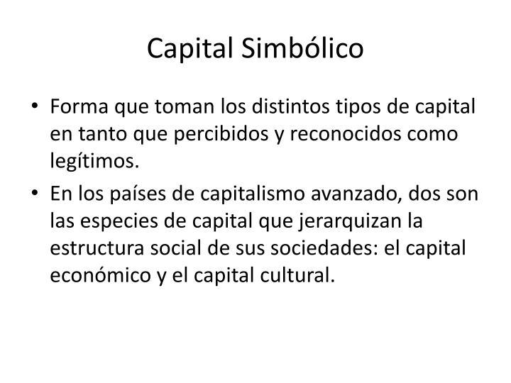 Capital Simbólico