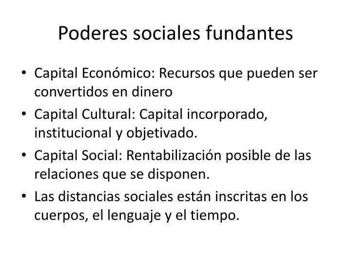 Poderes sociales