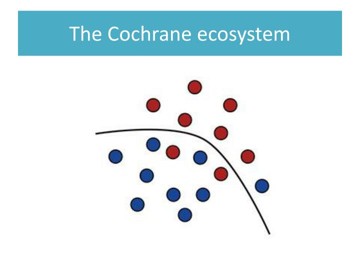 The Cochrane ecosystem