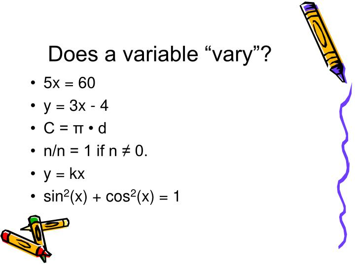 "Does a variable ""vary""?"