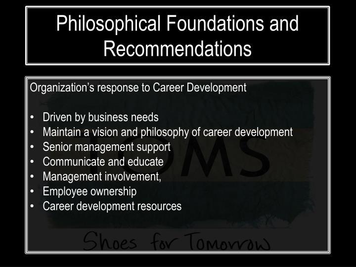 Organization's response to Career Development