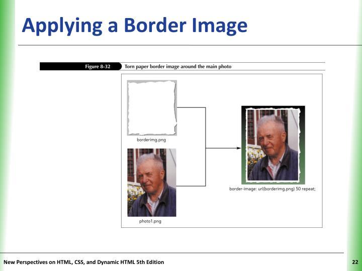 Applying a Border Image