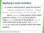 applying a color gradient1