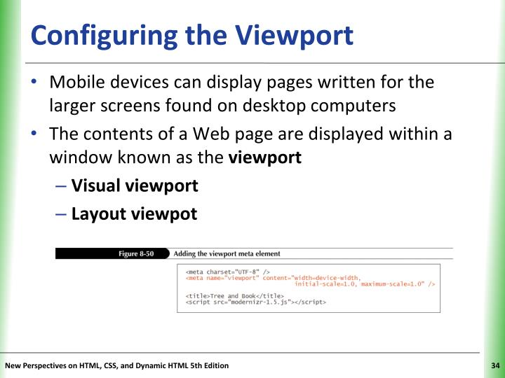 Configuring the Viewport