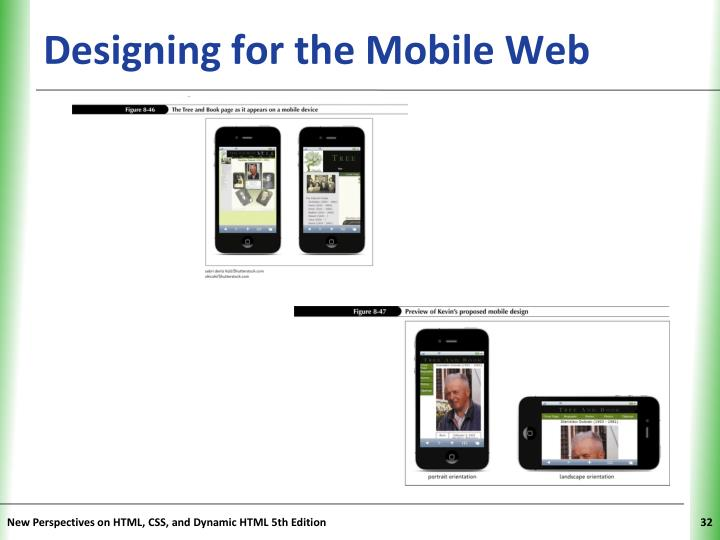 Designing for the Mobile Web