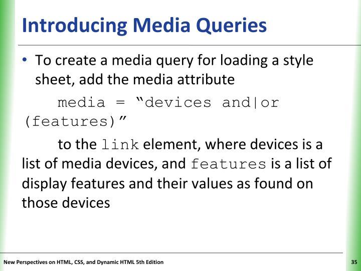 Introducing Media Queries