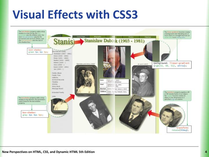 Visual Effects with CSS3