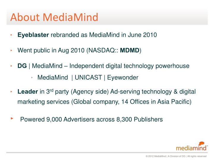 About mediamind