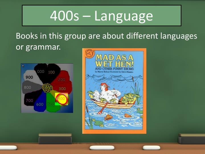 400s – Language