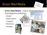 direct mail media
