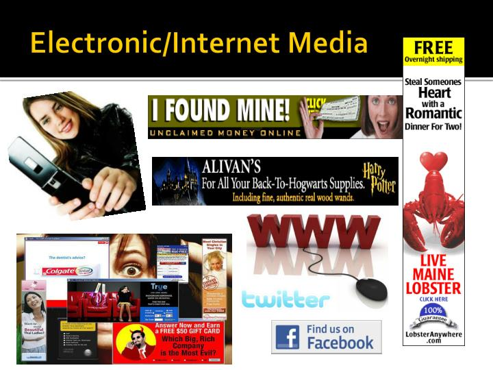 Electronic/Internet Media