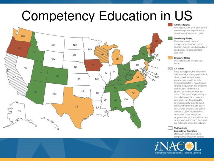 Competency Education in US