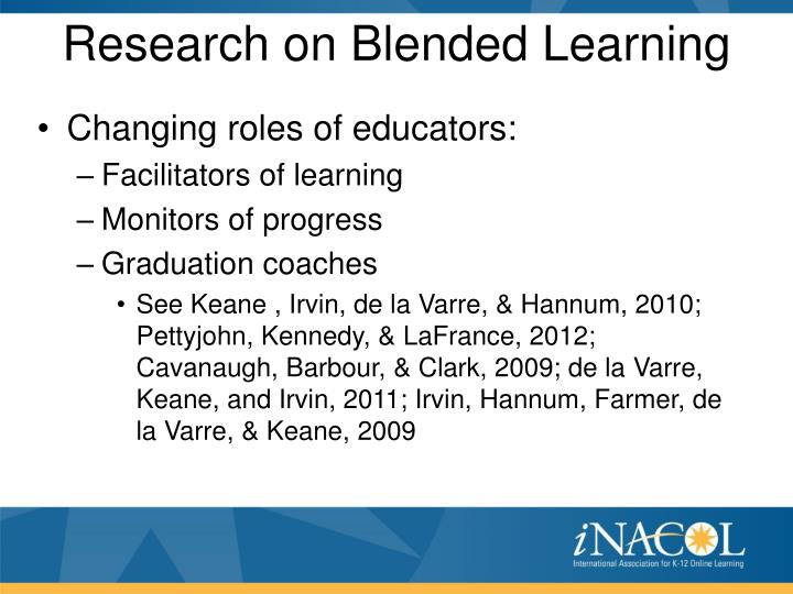 Research on Blended Learning