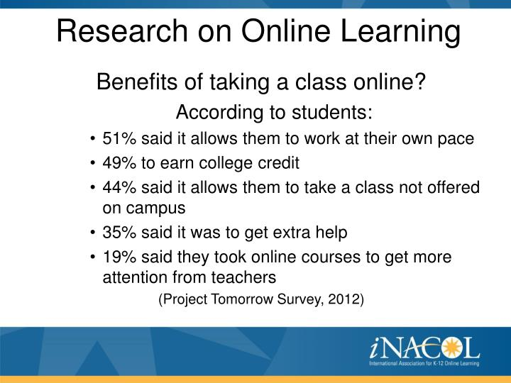 Research on Online Learning