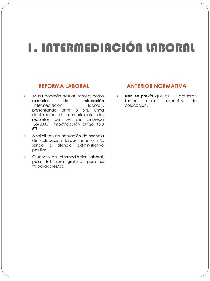 1. INTERMEDIACIÓN LABORAL