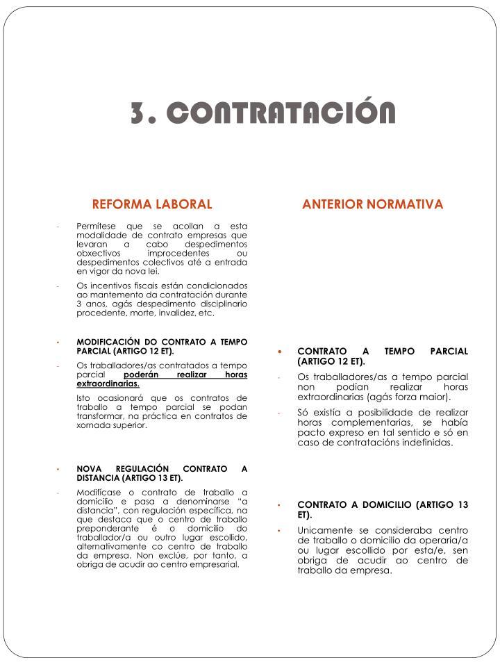 3. CONTRATACIÓN