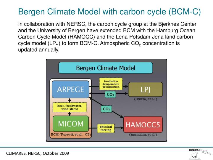 Bergen Climate Model with carbon cycle (BCM-C)