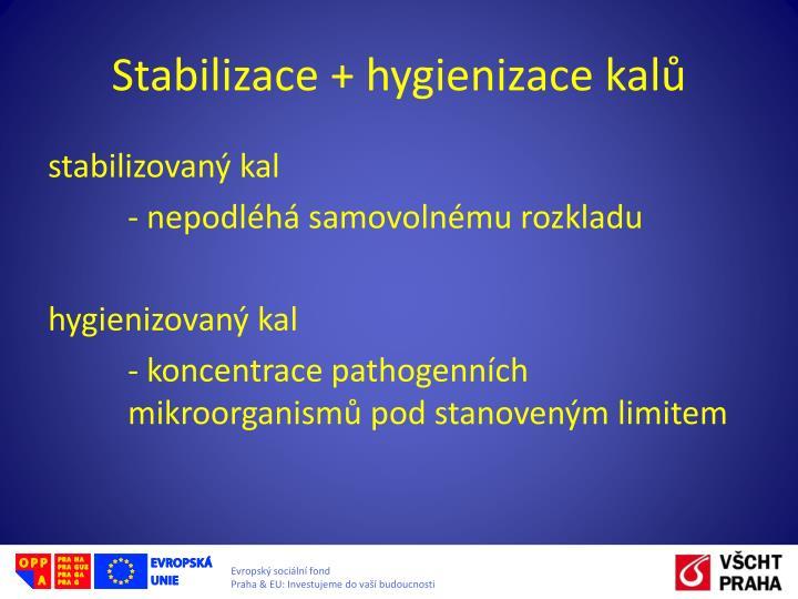 Stabilizace +