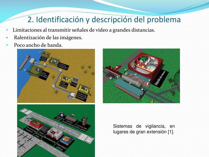 2. Identificación y descripción del problema