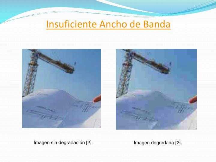 Insuficiente Ancho de Banda
