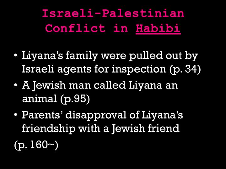 Israeli-Palestinian Conflict in