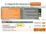 3 1 search for sources in