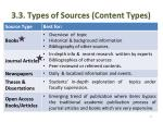3 3 types of sources content types